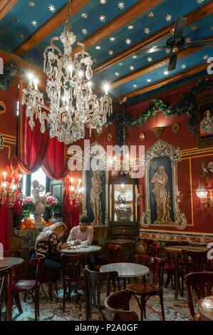 Spanien Valencia Altstadt Cafe De Las Horas Marc Insavally Der