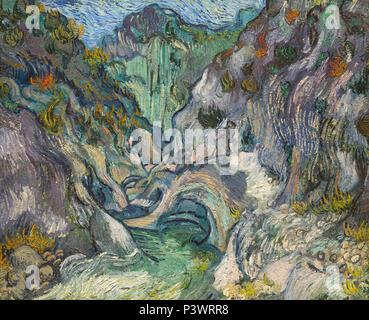 Schlucht, Vincent van Gogh, 1889, Museum der Bildenden Künste, Boston, Mass, USA, Nordamerika - Stockfoto