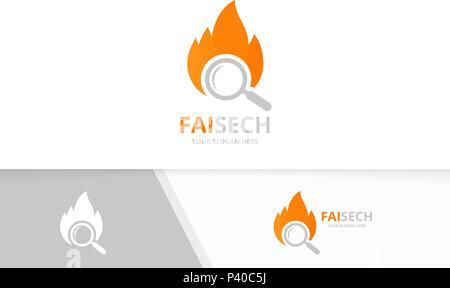 feuer flamme logo vorlage vektor icon l gas und energiewirtschaft logokonzept vektor. Black Bedroom Furniture Sets. Home Design Ideas