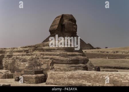 Pyramiden von Gizeh in Kairo