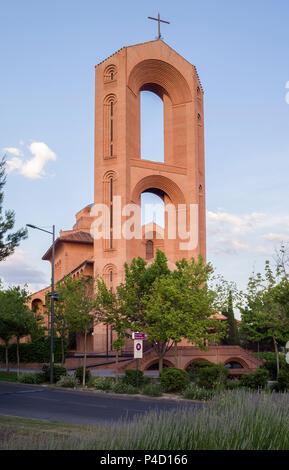 Iglesia de Santa María de Caná. Pozuelo de Alarcón. Madrid. España - Stockfoto