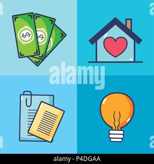 Immobilien investieren - Stockfoto