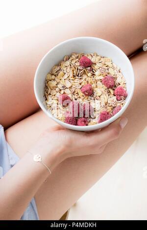 Frühstück-Müsli - Stockfoto
