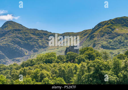 North Wales. Dolbadarn Schloss, Llanberis. - Stockfoto