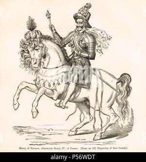 Heinrich von Navarra, dem späteren König Heinrich IV. von Frankreich - Stockfoto