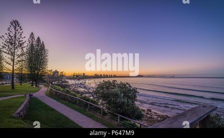 Alexandra Headland Sunshine Coast Australien - Stockfoto