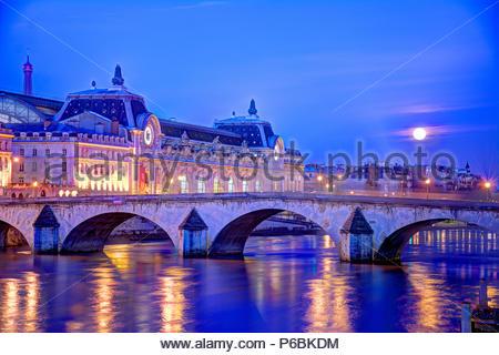 Frankreich, Ile-de-France, Paris, seine Banken als Weltkulturerbe der UNESCO, Musée d'Orsay - Stockfoto