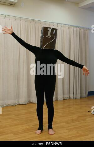 """New York, NY, USA. 29 Juni, 2018. Floriana Frassetto anwesend für mummenschanz Debüt neue Show """"Du und Ich"""", Pearl Studios, New York, NY 29. Juni 2018. Credit: Jason Smith/Everett Collection/Alamy leben Nachrichten"""