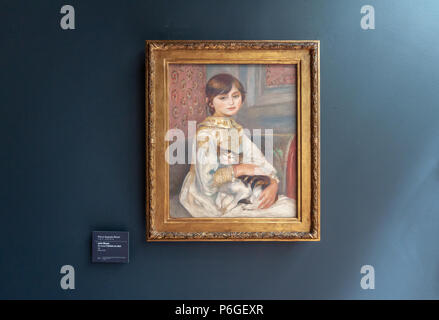 Julie Manet von Renoir - Stockfoto
