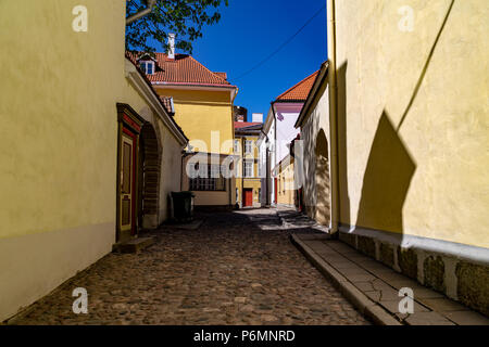 Street View in Tallin, Estland - Stockfoto