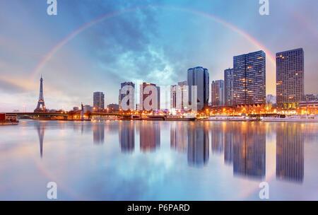 Pariser Skyline Stadtbild - Stockfoto