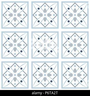 Vektor nahtlose Fliese Muster. Endlose Textur für Tapeten verwendet werden können, musterfüllungen, Webseite Hintergrund, Oberflächenstrukturen. - Stockfoto