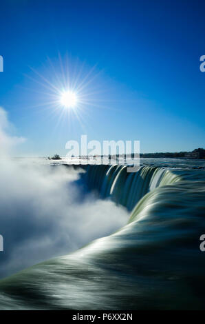 Kanada, Ontario, Niagara River, die Niagarafälle, Horseshoe Falls - Stockfoto