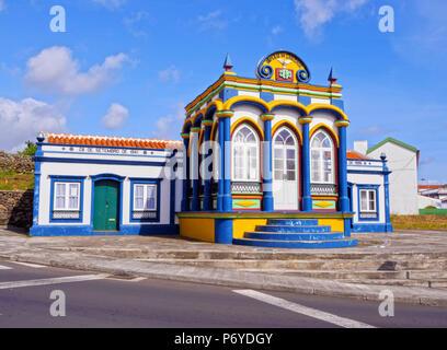 Portugal, Azoren, Terceira, Praia da Vitoria, Reich des Heiligen Geistes Imperio da Caridade. - Stockfoto