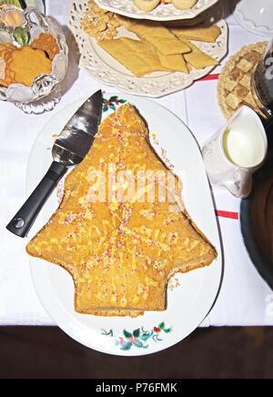 Weihnachten Kaffee Kuchen Softcake In Der Form Eines