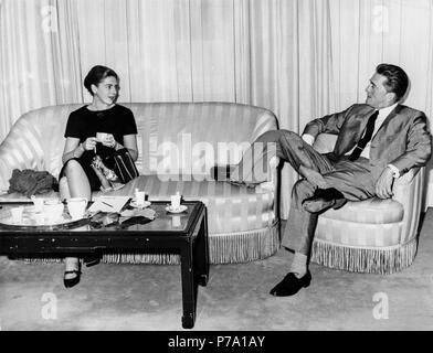 Kirk Douglas, Anne Buydens, Rom, 1961 - Stockfoto