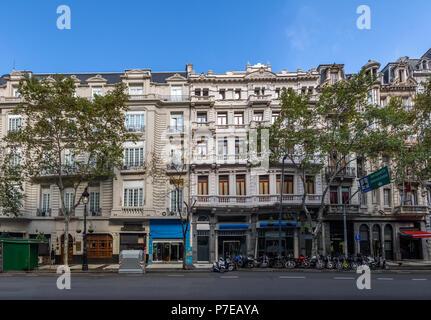 Avenida de Mayo - Buenos Aires, Argentinien - Stockfoto