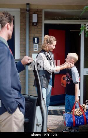 100-008-109 geschiedenen Eltern - Stockfoto