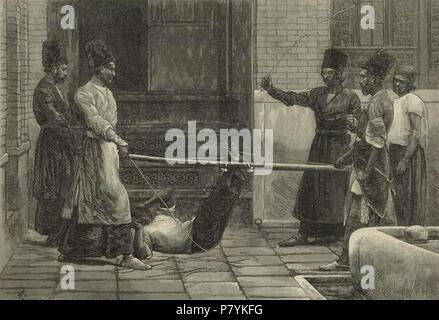 Bastonade In Persien Stockfoto, Bild: 56754229 - Alamy