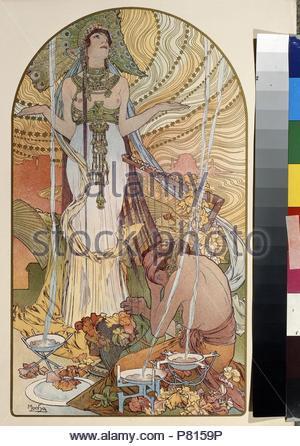 Salambo. Museum: Staat A Puschkin-Museum für bildende Künste, Moskau. - Stockfoto