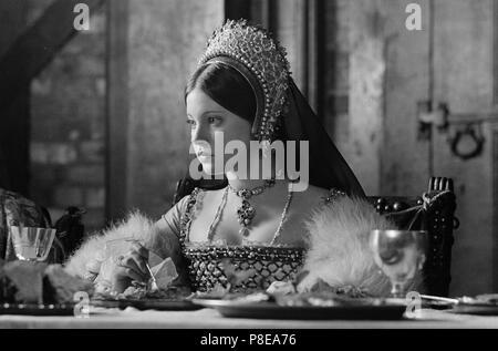 Heinrich VIII. und seine 6 Frauen (1972), Lynne Frederick, Datum: 1972 - Stockfoto