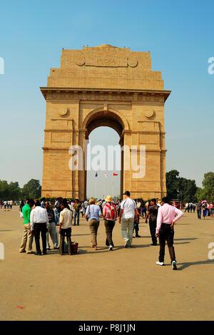 India Gate, Neu-Delhi, Indien - Stockfoto