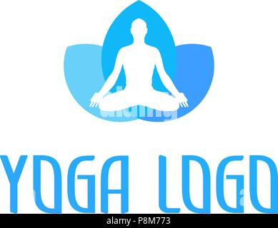 Symbol. Vektor. Yoga. - Stockfoto