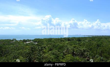 Florida Horizont von der Oberseite der Leuchtturm - Stockfoto
