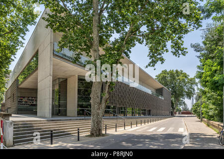 Conference Center in Girona, Spanien - Stockfoto