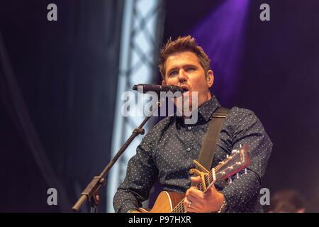 Brentwood Essex, 15. Juli 2018 Brentwood Music Festival 2018 im Brentwood Center mit Scouting für Roy Stride # Credit Ian Davidson/Alamy leben Nachrichten - Stockfoto