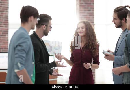 Creative Business Team im Büro - Stockfoto