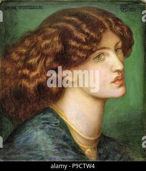Rossetti, Dante Gabriel - Bruna Brunelleschi - Stockfoto