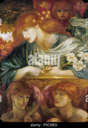 Rossetti, Dante Gabriel - Die selige Damozel 5 - Stockfoto