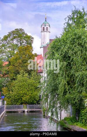 Augsburg, Bayern, Deutschland - Klosterkirche der Dominikanischen Kloster St. Ursula. - Stockfoto