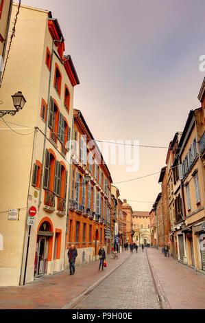 Toulouse Stadtbild, Frankreich - Stockfoto