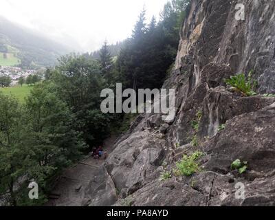 Klettersteig De : Alpen sommer courchevel frankreich klettersteig de la fraiche