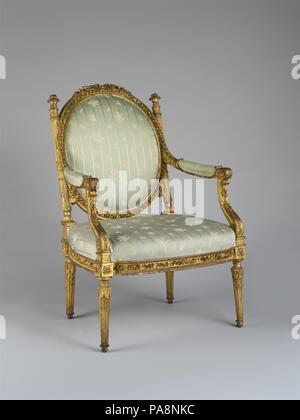 Sessel (fauteuil à la Reine). Kultur: Französisch, Paris ...