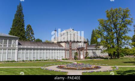 Grosses Gewachshaus Im Bergpark Wilhelmshohe Kassel Hessen