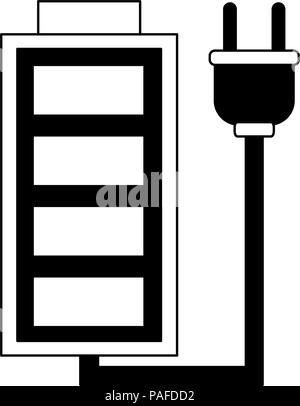 Wiederaufladbare batterie Symbol Vektor illustration Graphic Design ...