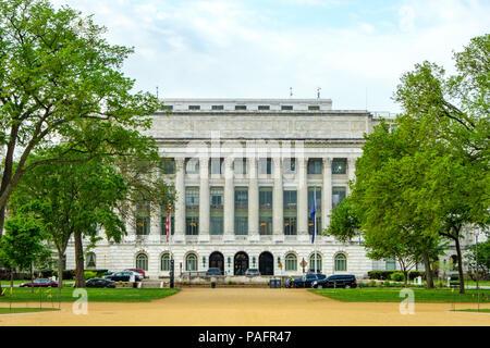 Jamie L Whitten Building, US-Landwirtschaftsministerium, 1400 Jefferson Drive SW, Washington DC - Stockfoto