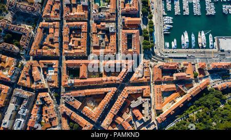 Quartier du Petit Marais Niçois, Port, Nizza, Frankreich - Stockfoto