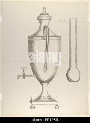 ... Design Für Einen Kaffee Urn. Künstler: Anonym, Französisch, 18.  Abmessungen:
