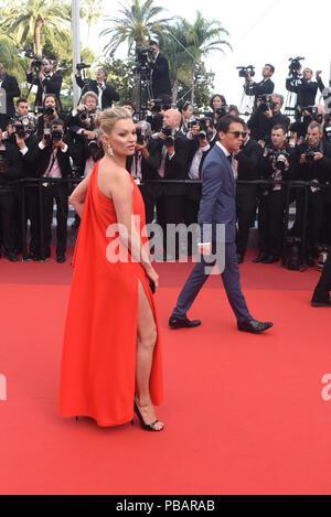 """Mai 16, 2016 - Cannes, Frankreich: Kate Moss nimmt an den """"lieben"""" Premiere während des 69. Filmfestival in Cannes. Kate Moss lors du 69eme Festival de Cannes. *** Frankreich/KEINE VERKÄUFE IN DEN FRANZÖSISCHEN MEDIEN *** - Stockfoto"""