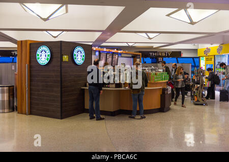 NEW YORK, USA - 21.September 2015: ein Teil des John F. Kennedy International Airport. Es ist der geschäftigsten internationalen Fluggästen Gateway in den Vereinigten S - Stockfoto