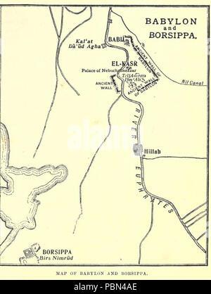Babylon Karte.Karte Von Babylon Borsippa Stockfoto Bild 163226770 Alamy