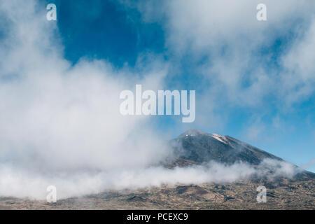 Vulkan Gipfel des Mt. Teide, Teneriffa - Stockfoto