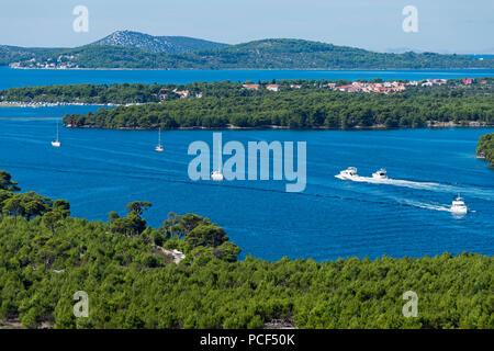 Kanal des Hl. Antonius, Sibenik, Dalmatien, Kroatien - Stockfoto