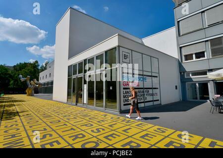 Berlinische Galerie, Alte Jakobstrasse, Kreuzberg, Berlin, Deutschland - Stockfoto