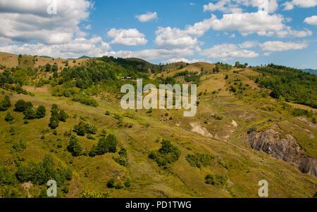 Erstaunlich Hügel in Rumänien - Stockfoto
