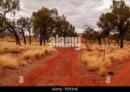 KALTUKATJARA CAMP SITE, Great Central Road, Northern Territories, Australien - Stockfoto